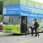 Anglia Ruskin Roadshow Bus